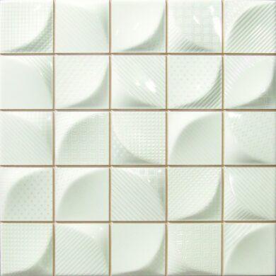 3D White 25X25                                                                  (187475)