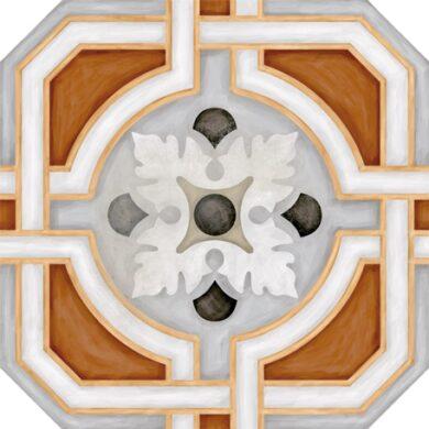 Octogono Zimer Multicolor 20x20(4P33)
