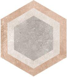 Hexagono Bushmills Multicolor 26,6x23