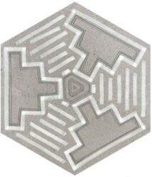 Hexagono Igneus Cemento 26,6x23