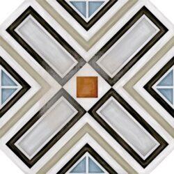 Octogono Ritter Multicolor 20x20-oktogony 20x20, součástí balení nejsou rohové kostičky Taco Dome - nutno doobjednat samostatně - možnost volby jejich barevného provedení