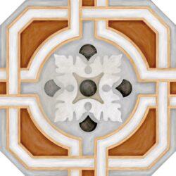 Octogono Zimer Multicolor 20x20-oktogony 20x20, součástí balení nejsou rohové kostičky Taco Dome - nutno doobjednat samostatně - možnost volby jejich barevného provedení