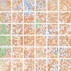 Emotion Red Natural Mosaico 29,8x29,8