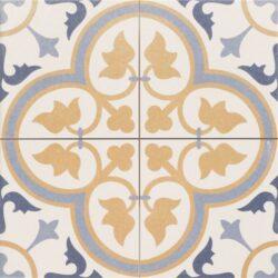 Dover Beige 45x45, retro obklad a dlažba-!!! Nyní akční cena  499,- Kč/m2 !!!   Matná mrazuvzdorná retro dlažba a obklad série Victorian style & Patchwork, formát 45x45