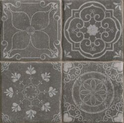 Tech Land Temple Basalt 22,5x22,5                                               -V každém balení je náhodná sestava z mnoha různých motivů.