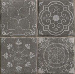 Tech Land Temple Basalt 22,5x22,5-V každém balení je náhodná sestava z mnoha různých motivů.