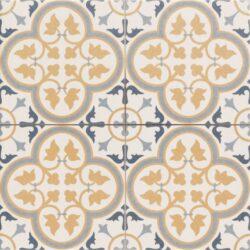 Hampton Beige 45x45, retro obklad a dlažba-!!! Nyní akční cena  499,- Kč/m2 !!!   Matná mrazuvzdorná retro dlažba a obklad série Victorian style & Patchwork, formát 45x45