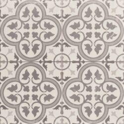Hampton Grey 45x45, retro obklad a dlažba-!!! Nyní akční cena  499,- Kč/m2 !!!   Matná mrazuvzdorná retro dlažba a obklad série Victorian style & Patchwork, formát 45x45